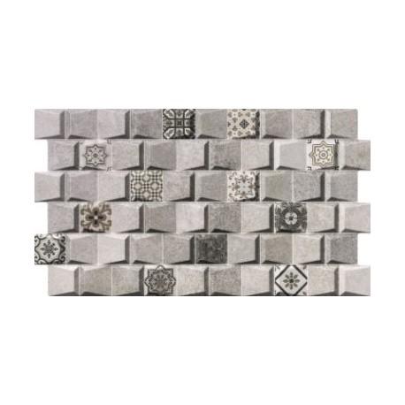MEGANE GRIS DECO 31x56 sieninė plytelė