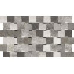 KUBIK GRIS 31x56 sieninė plytelė