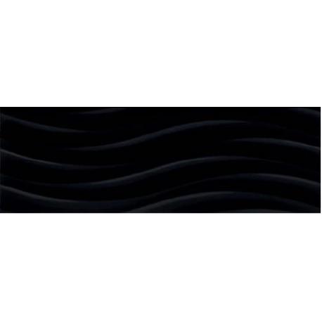 Java Onda black 25x75 sieninė plytelė