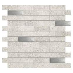 Meteor mosaic grey 298x298 sieninė mozaika