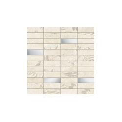 Versus white mosaic 298x298 sieninė mozaika