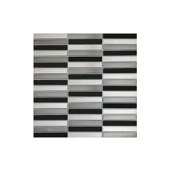 Drops metal grey stone 298x304 sieninė mozaika