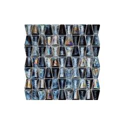 Drops glass grey 304x306 sieninė mozaika