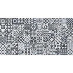 DECO HERITAGE BLACK 32x62.5 sieninė plytelė