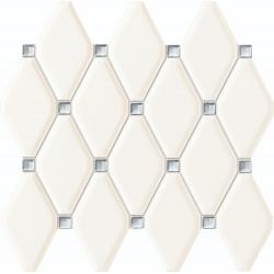 Mozaika Abisso white 270x298