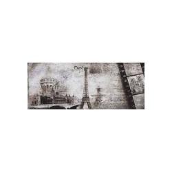 Post card grey inserto 3 20x50 dekorinė plytelė