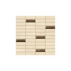 Moringa beige rectangular 298x298 sieninė mozaika