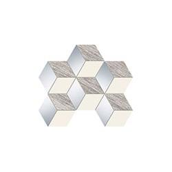 Senza grey hex 298x221 mozaikinė plytelė